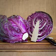images - Cabbage Red Half