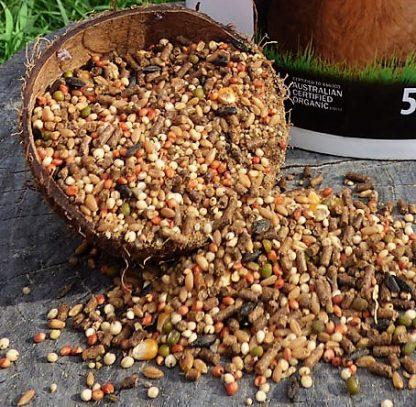 coarse grain 1 416x407 - Poultry Grain - Coarse Layer 1kg