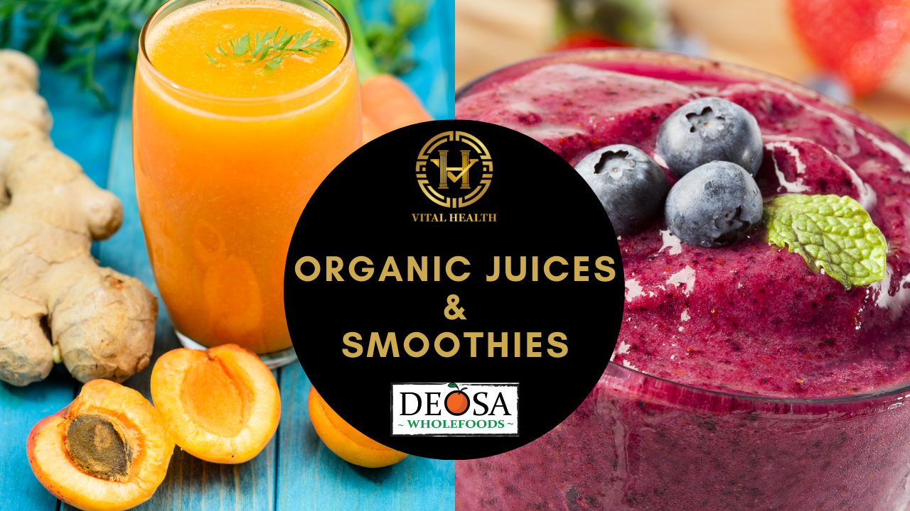 Juices Smoothies for DOSA Website - Clare and Rose, Seelands
