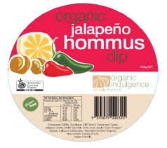 hommus Jalapeno - Dips: Hommus - Jalapeno