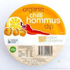 hommus chilli - Dips: Hommus - Chilli