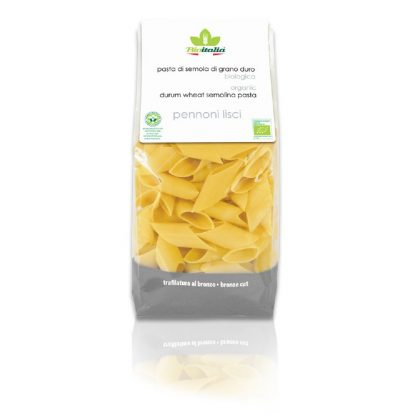 CD92105 416x416 - Pasta: Gourmet Pennoni Lisci (Large Penne) - Bioitalia