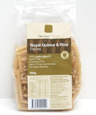 quinoa and rice th 324x388 - Pasta - Brown Rice and Amaranth Penne  (GF)