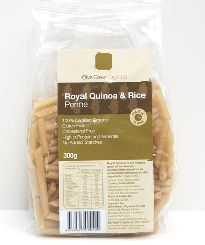 quinoa and rice th - Pasta - Brown Rice and Amaranth Penne  (GF)