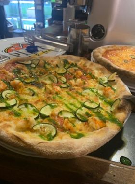 79315319 503198253875996 6626941423113469952 n - Woodfired Organic Pizza - Gamberi & Zucchine (Prawn & Zucchini)