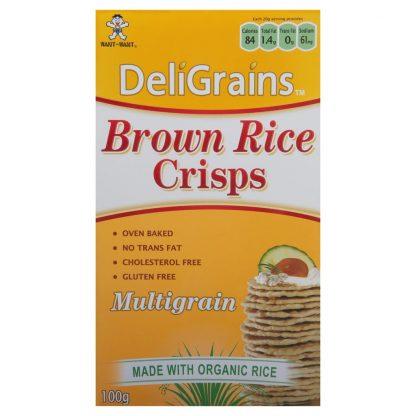 DeliGrains Brown Rice Crisps Multigrain 416x416 - Crackers - Brown Rice Crisps Multigrain