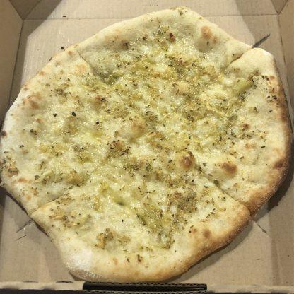 GARLIC PIZZA e1585975561313 416x416 - Woodfired Organic Pizza - Garlic & Parmesan
