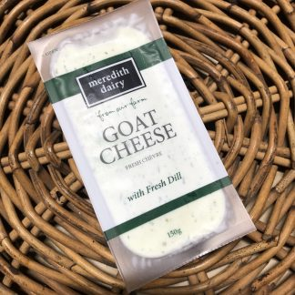 IMG 3632 324x324 - Cheese - Goat's Chevre with Fresh Dill 150g