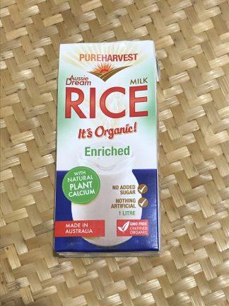 Pure Harvest Rice Milk 324x432 - Milk Pure Harvest Rice Milk Enriched