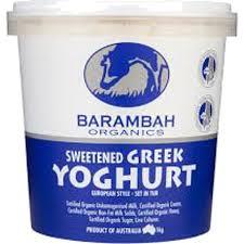 greek yoghurt 1kg - Yoghurt - Greek 1kg