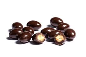 dark chocolate coated almonds - Dark Chocolate Coated Almonds