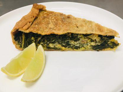 IMG 5311 Edited 416x312 - Greek spinach, cheese & herb pie (Spanikopita)